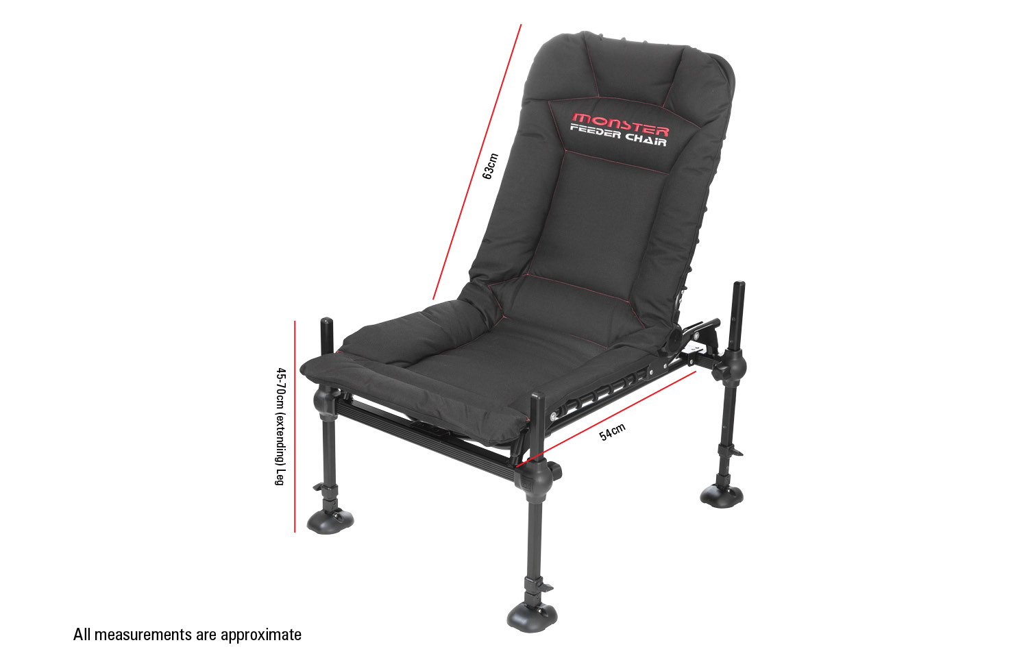 Preston Innovations Monster Feeder Chair and Footplate
