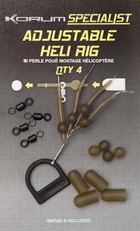 Polaris Side By Side >> Korum Adjustable Heli Rig Kits