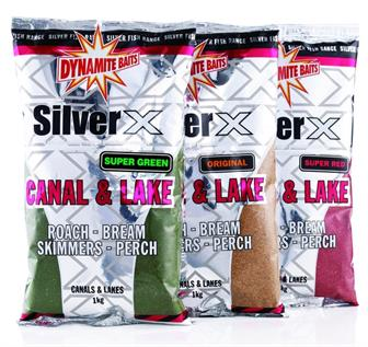 Dynamite Baits Silver X Canal and Lake Groundbait - Fishing Bait
