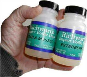 Richworth Impact Boilie Dips - Fishing Bait Flavourings