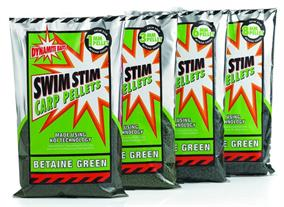 Dynamite Green Swim Stim Carp Pellets  Groundbait & Paste