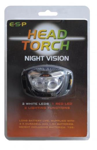 ESP LED Night Vision & Vari-Light Head Torches - NEW!
