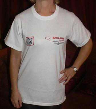 Matchman Supplies T-Shirts  new design with QR Code!