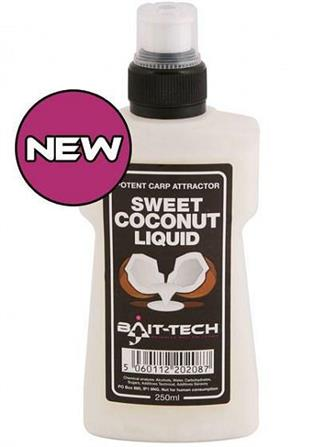 Bait-Tech Sweet Coconut Liquid - NEW!