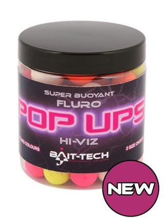 Bait-Tech Hi-Viz Fluro Pop Ups - NEW!