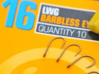 GURU LWG Eyed & Spade End Barbless Hooks