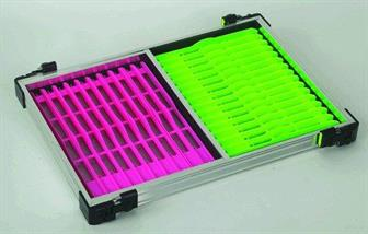 Rive Seat Box Add-On Tray Unit  with pink & green winders
