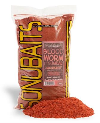 SONU BAITS Bloodworm Fishmeal Groundbait