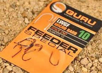 Guru Light Wide Gape Feeder Hooks