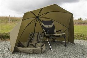 Korum 50 Inch Graphite Brolly Shelter
