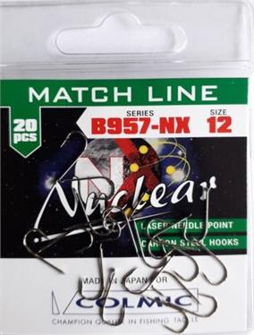 Colmic Nuclear B957-NX Spade End Micro-barbed Hooks