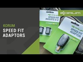 Korum Speed Fit Adaptor & Inserts