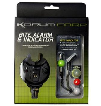 Korum Bite Alarm with Bite Indicator Kit