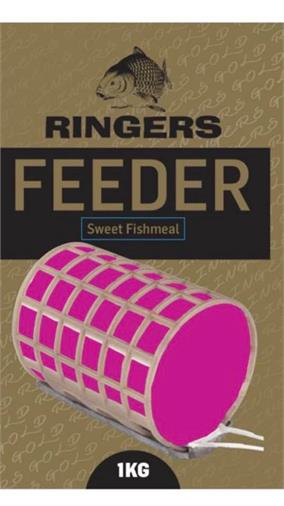 Ringers Feeder Gold Sweet Fishmeal Groundbait