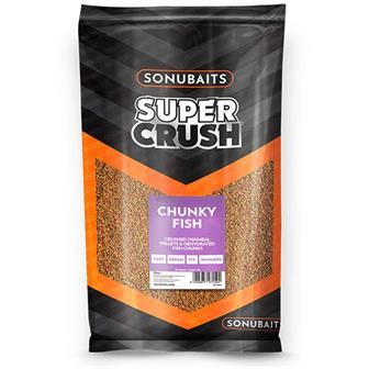 SonuBaits Supercrush Chunky Fish Groundbait