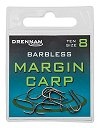 Drennan Margin Carp Barbless Spade-End Hooks