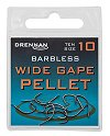 Drennan Wide Gape Pellet Barbless Spade-End Hooks
