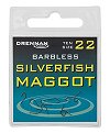 Drennan Silverfish Maggot Barbless Spade-End Hooks