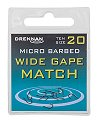 Drennan New Generation Wide Gape Match Microbarbed Spade-End Hooks
