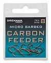 Drennan Carbon Feeder Microbarbed Spade-End Hooks