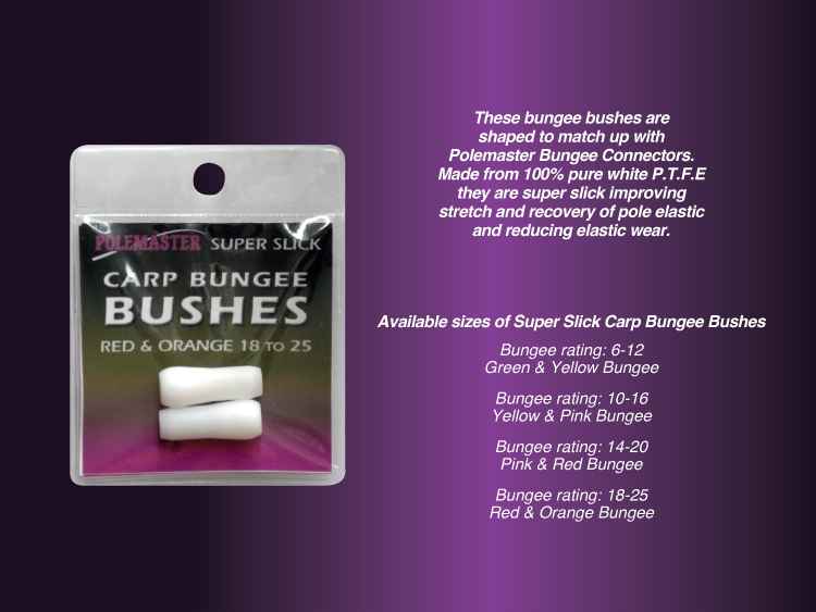 Drennan Super Slick Bungee White Internal Bushes All Sizes Available