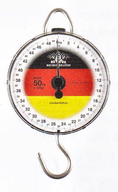 New Reuben Heaton Standard Angling Flag Scale England