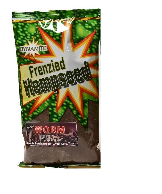 Dynamite Baits Frenzied Hempseed Worm Groundbait - DY453