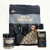 Dynamite Baits NEW White Chocolate Boilies  Pop-Ups & liquid Attractant