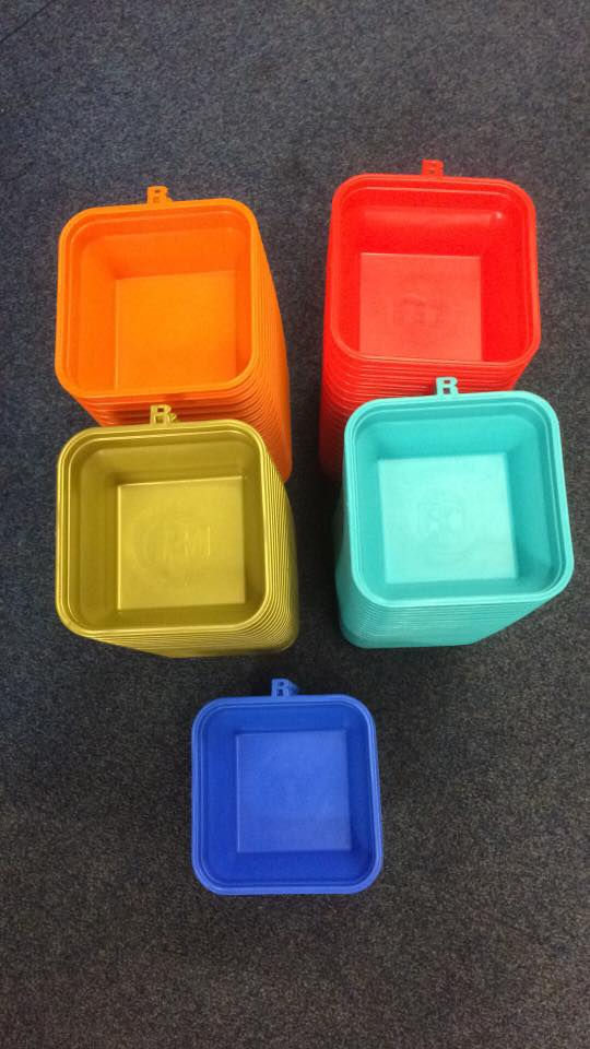 All Colours Available Brand New Ringers Collapsible Foldable 1 Pint Bait Tub